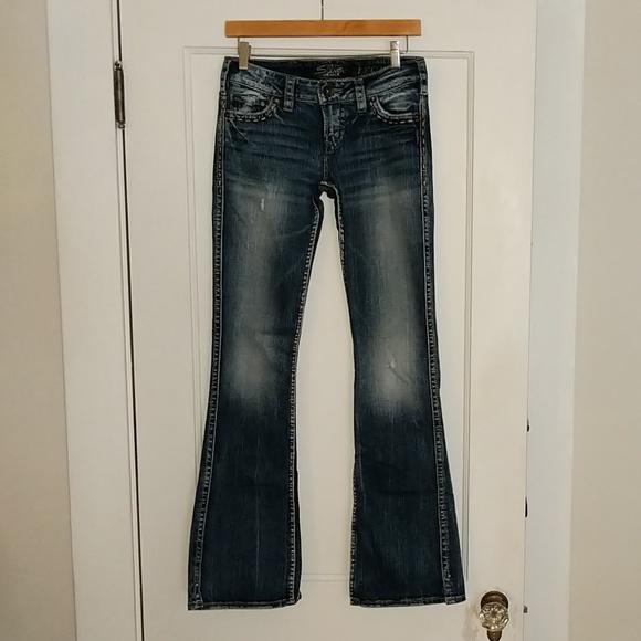 Silver Jeans Denim - Silver Frances jeans, sz W26/L33